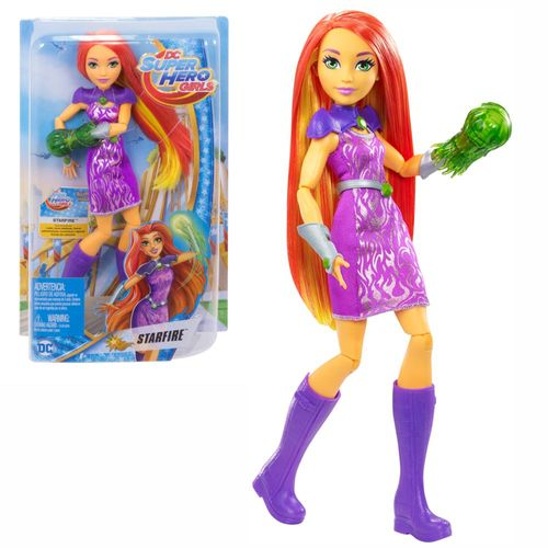 Starfire | DC Super Hero Girls | Mattel DVG20 | Super-Helden Puppe – Bild 1