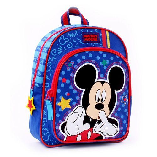 Face Time | Kinder Rucksack blau | 31 x 25 x 12 cm | Micky Maus | Mickey Mouse – Bild 1