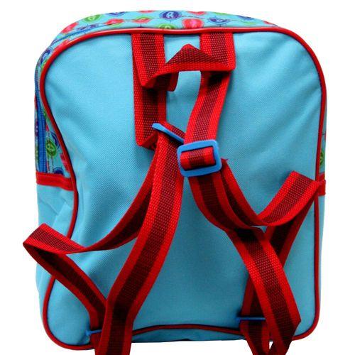 Rucksack | blau | 3-tlg mit Zubehör | 28 x 24 x 12 cm | Pyjamahelden | PJ Masks – Bild 2