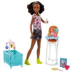 Skipper Freundin Babysitter | Barbie | Mattel FHY99 | Spielset | Puppe Schwester