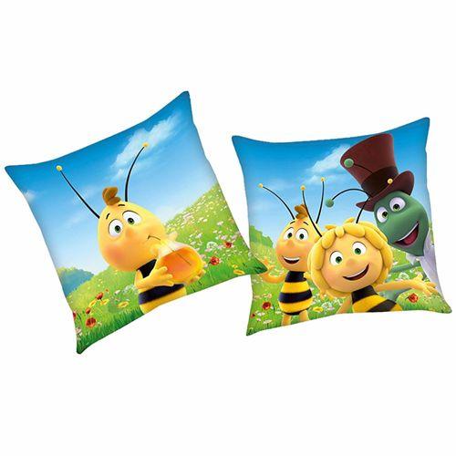 Willi | Kinder Kissen 40 x 40 cm | Biene Maja | Kuschelkissen | Dekokissen