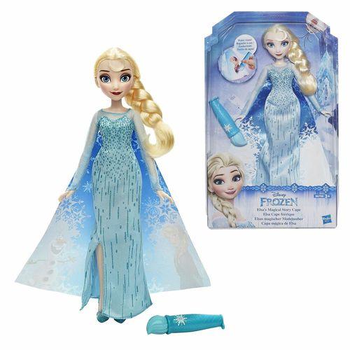 Elsa Puppe | Disney Eiskönigin | Frozen | Hasbro B6700 | Magischer Modezauber – Bild 1