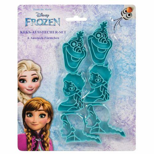 Ausstechformen | Kekse & Plätzchen | Disney Eiskönigin | Frozen | Back-Förmchen