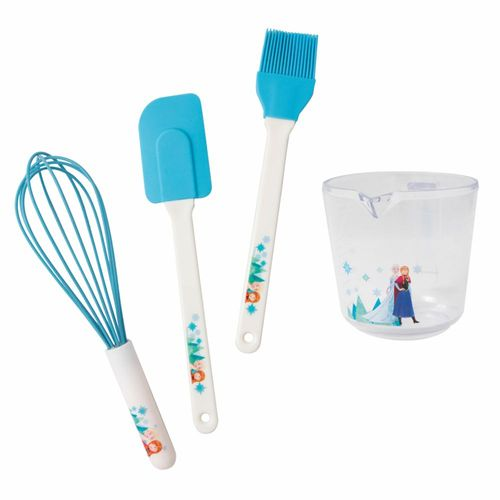 Back-Set | Disney Eiskönigin | Frozen | Back-Utensilien | Backen mit Anna & Elsa – Bild 1