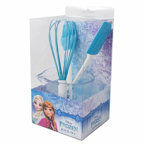 Back-Set | Disney Eiskönigin | Frozen | Back-Utensilien | Backen mit Anna & Elsa – Bild 2
