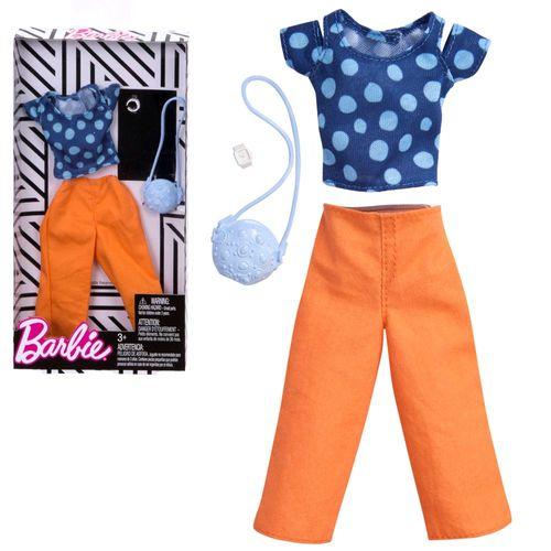 Set Sommer Shirt & Hose   Barbie   Mattel FKR98   Trend Mode Puppen-Kleidung