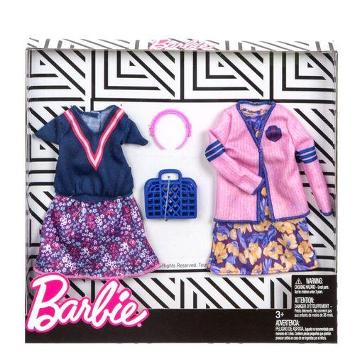 Shopping Mode | 2 Trend Garderoben Set | Barbie | Mattel FKT29 | Puppen-Kleidung – Bild 2
