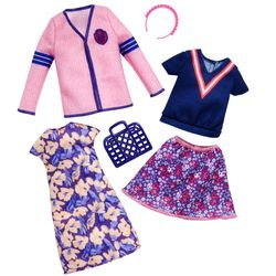 Shopping Mode | 2 Trend Garderoben Set | Barbie | Mattel FKT29 | Puppen-Kleidung