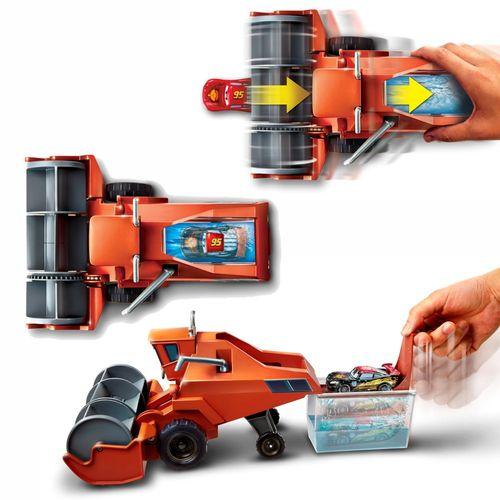 Verfolgungsjagd Frank | Disney Cars | Spiel Set Farbwechsel | Mattel DHF82 – Bild 3