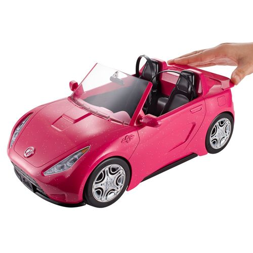 Glam Cabrio   Auto für Barbie Puppe   Mattel DVX59   Cabriolet Kabriolett – Bild 2