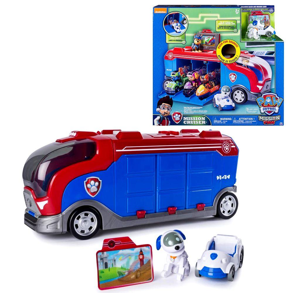 personaggio del gioco Paw Patrol missione cruiser camion compresi Sound Robo Dog veicolo