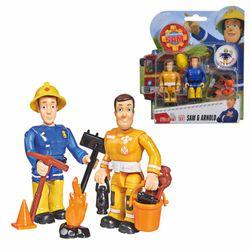 Sam & Arnold | Feuerwehrmann Sam | Spiel Figuren Set | Simba Toys