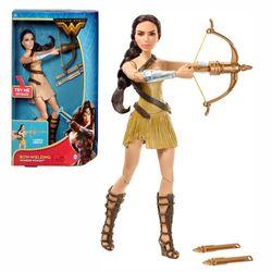 DC Wonder Woman Puppe | Mattel FDF38 | mit Pfeil & Bogen | Bogenschießer
