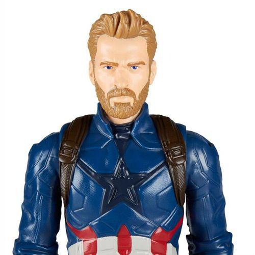 Captain America Puppe | Hasbro E1421 | Marvel Avengers Infinity War – Bild 2