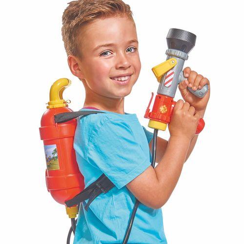 Lösch-Rucksack | Wasserpistole mit Tankrucksack | Feuerwehrmann Sam | Simba – Bild 3