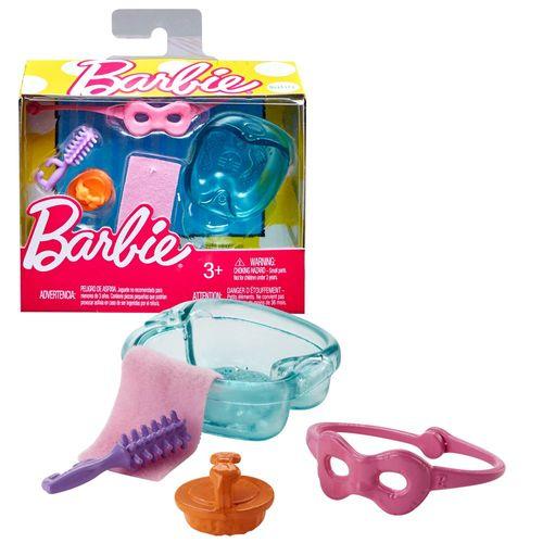 Set Wellness - Zubehör Badezimmer | Barbie | Mattel FHY69 | Wohnaccessoires Set – Bild 1