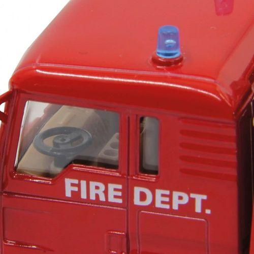 Feuerwehrauto & Helikopter | Spielset mit Figuren | von Jamara | Die Cast | MAN – Bild 2