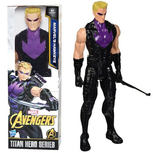 Hawkeye Puppe | Hasbro B8501 | Marvel Civil War | 30 cm | Titan Hero Serie – Bild 1