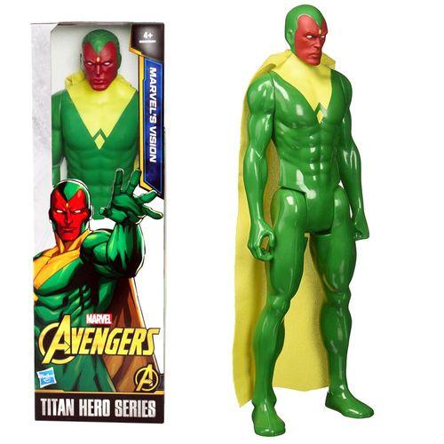 Vision Puppe | Hasbro B6533 | Marvel Civil War | 30 cm | Titan Hero Serie – Bild 1