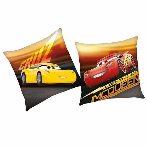 Cruz | Kinder Kissen 40 x 40 cm | Disney Cars | Kuschelkissen | Dekokissen
