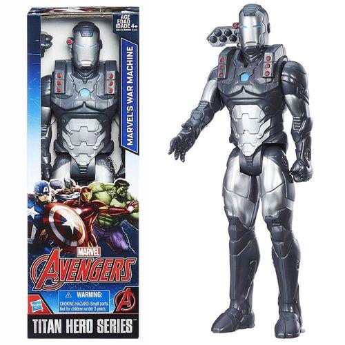 War Machine Puppe | Hasbro B6154 | Marvel Avengers | 30 cm | Titan Hero Serie – Bild 1
