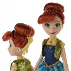 Anna Puppe | Disney Eiskönigin | Frozen | Hasbro B5166 | Party-Fieber – Bild 2