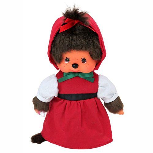 Rotkäppchen | 20 cm | Monchhichi Puppe | Mädchen | Rotkäppchen Kleid mit Kapuze – Bild 2