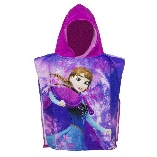 Auswahl Kapuzen-Poncho | 50 x 100 cm | Disney Eiskönigin | Frozen | Badeponcho – Bild 3