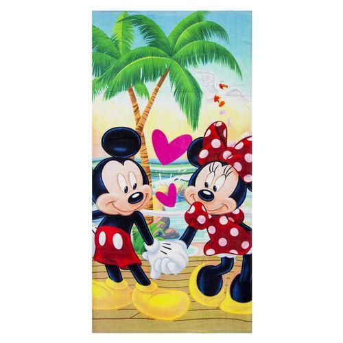 Badetuch Minnie & Micky | 70 x 140 cm | Disney Mickey Maus | Strandtuch Handtuch