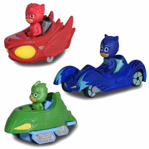 Auswahl Fahrzeuge mit Figur | Die Cast | Pyjamahelden | PJ Masks | Dickie Toys – Bild 1