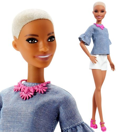 Barbie - Chic in Chambray | Mattel FNJ40 | Original Fashionistas 82 | Puppe – Bild 3