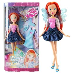 Bloom | Glamour Girl Puppe | Winx Club | World of Winx | Mit Mode-Accessoires