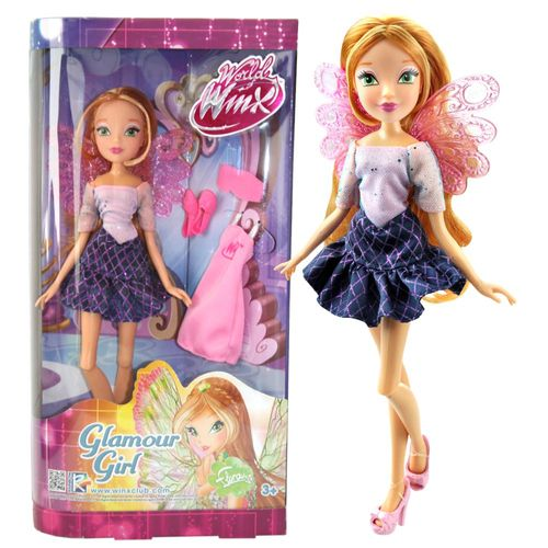 Flora | Glamour Girl Puppe | Winx Club | World of Winx | Mit Mode-Accessoires – Bild 1