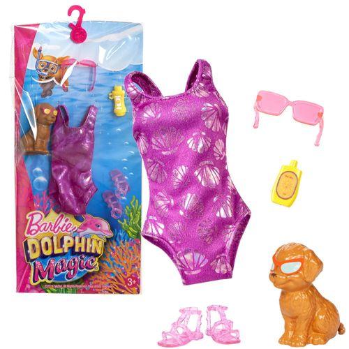 Badeanzug | Mode Magie der Delfine | Barbie | Mattel FBD85 | Puppen-Kleidung