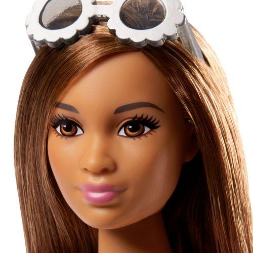 Barbie - Batik-Style Kleid | Mattel FJF42 | Curvy Fashionistas 77 | Puppe – Bild 3