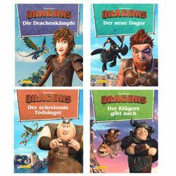Mini Pixi Bücher   DreamWorks Dragons   Geschichtenband   Teil 9-12