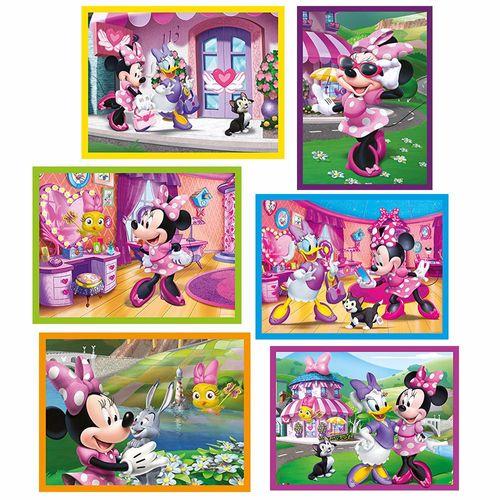Würfel Puzzle | 12 Teile | Disney Minnie Maus | Clementoni | Kinder – Bild 2