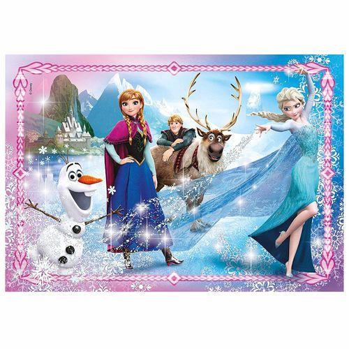 Juwel Puzzle Magie | 104 Teile | Disney Eiskönigin | Frozen | Clementoni – Bild 2