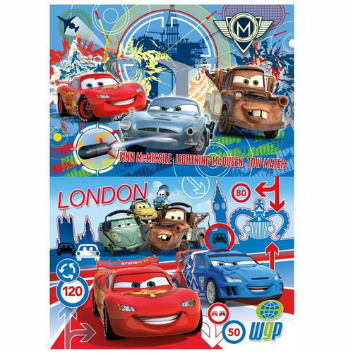 Kinder Puzzle | 2 x 20 Teile | Disney Cars | Clementoni | Super Color – Bild 2