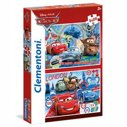 Kinder Puzzle | 2 x 20 Teile | Disney Cars | Clementoni | Super Color 001