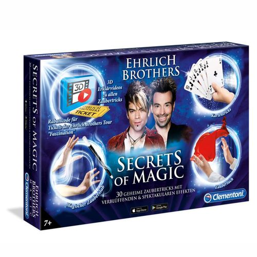 Secrets of Magic | Ehrlich Brothers | Clementoni | Magie & Zauberei – Bild 1