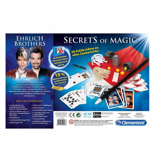Secrets of Magic | Ehrlich Brothers | Clementoni | Magie & Zauberei – Bild 4