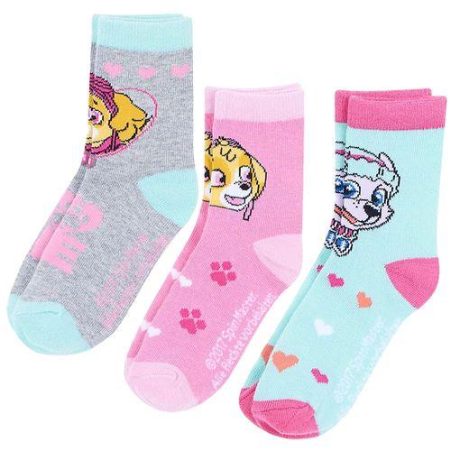 3-er Pack Socken | Paw Patrol | Strümpfe für Mädchen | Größe 23 - 34 – Bild 3