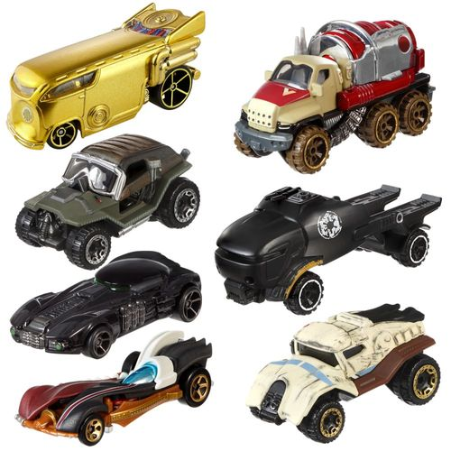 Auswahl Character Autos | Die-Cast | Star Wars | Mattel Hot Wheels – Bild 1