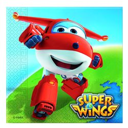 Servietten | 20 Stück | Super Wings | Kinder Party Geburtstag