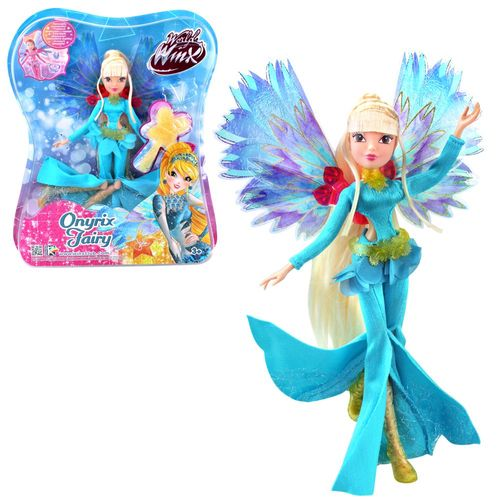 Stella | Onyrix Fairy Puppe | Winx Club | World of Winx | Magisches Gewand – Bild 1