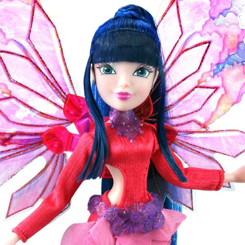 Musa | Onyrix Fairy Puppe | Winx Club | World of Winx | Magisches Gewand – Bild 2