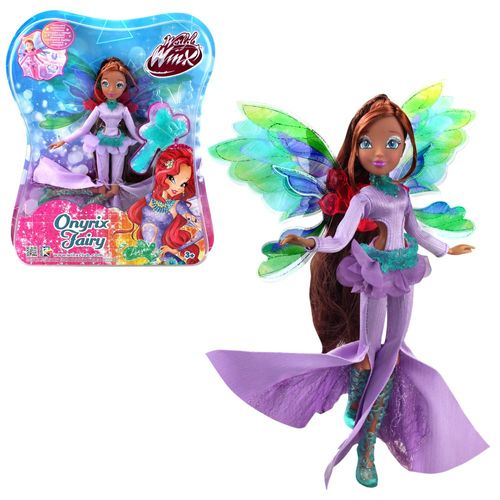Layla | Onyrix Fairy Puppe | Winx Club | World of Winx | Magisches Gewand – Bild 1