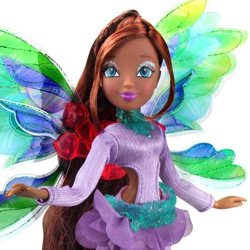 Layla | Onyrix Fairy Puppe | Winx Club | World of Winx | Magisches Gewand – Bild 2