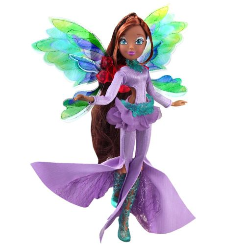 Layla | Onyrix Fairy Puppe | Winx Club | World of Winx | Magisches Gewand – Bild 3